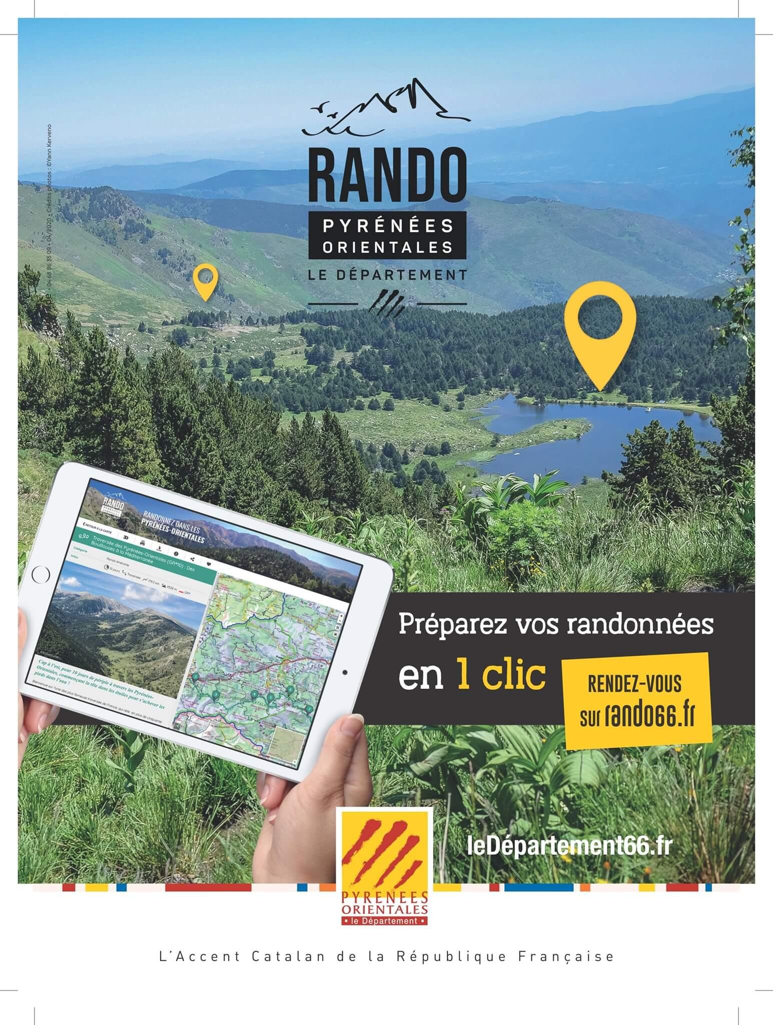 Les Pyrenees Orientales destination randonnees